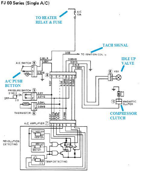 2009 Toyotum Camry Ac Wiring Diagram by V8 Compressor With Toyota A C Wiring Diagram Ih8mud