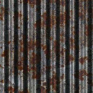 Steel corrugated rusty metal texture seamless 09983