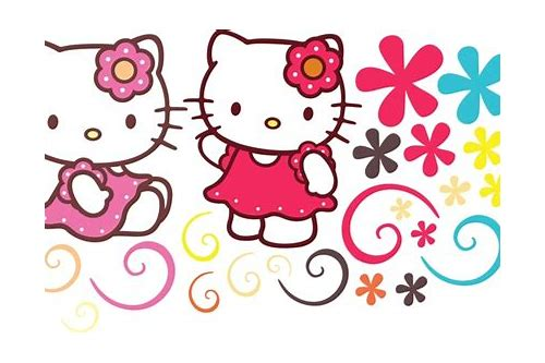 free download vector hello kitty ai