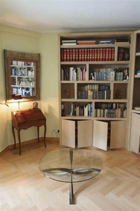 eclairage led bibliotheque biblioth 232 que d angle contemporaine avec 233 clairage