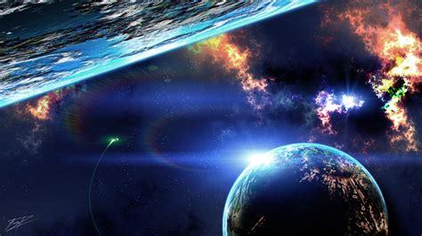 Wallpaper : 1920x1080 px fi futuristik nebula luar
