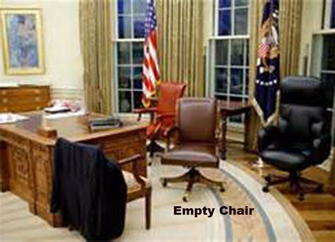 obamas empty chair wsj what white house doesn t will shock you www