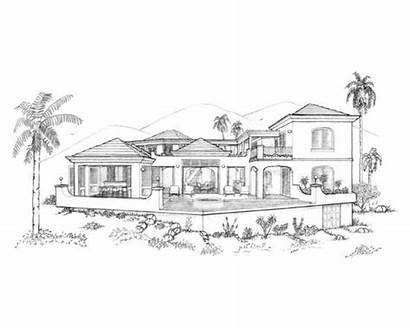 Modern Houses Drawing Draw Sketches Things Sketch