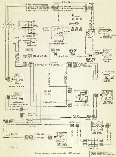 1985 Gm Window Switch Wiring by Power Windows And Locks Diagrams The 1947 Present