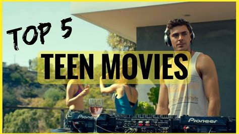 Top 5 Best Teen  High School Movies Of All Time You