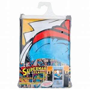 Rideau De Douche Original : rideau de douche superman ~ Melissatoandfro.com Idées de Décoration