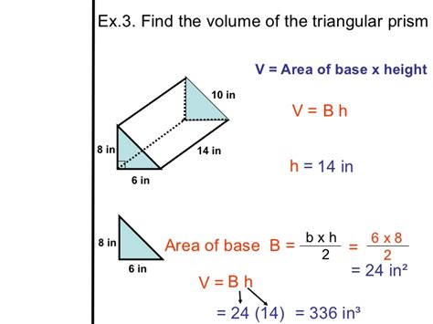 The Gallery For > Volume Of A Triangular Prism