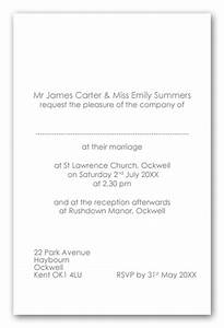 wedding invitation wording bride and groom as hosts day With wedding invitations sample wording bride and groom inviting