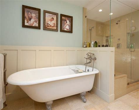 clawfoot tub bathroom ideas bathroom design clawfoot tubs panelling and walk in