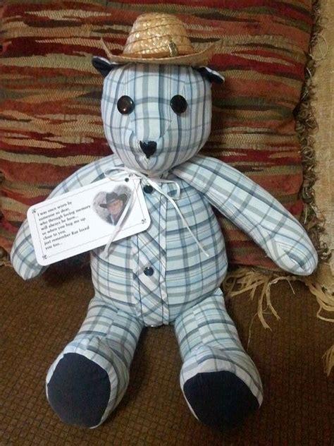 wonderful diy upcycled denim teddy bears