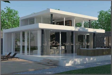 desain rumah atap datar rumah desain minimalis
