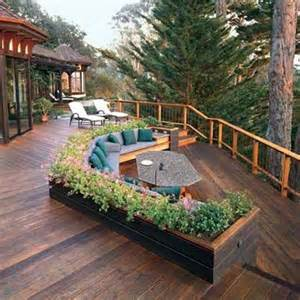 Beautiful Two Level Deck by 32 Wonderful Deck Designs To Make Your Home Extremely