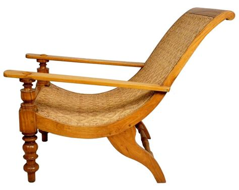 Chair India by South Indian Caned Satinwood Planter S Chair At 1stdibs
