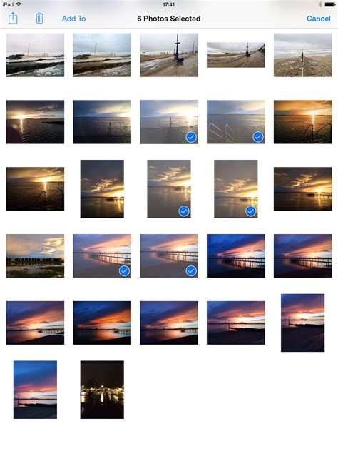 how to select all pictures on iphone how to select images in the photos app on iphone