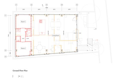 2828 ground floor plan house for seven mnm archdaily