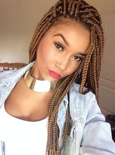 Best of all, you can also make the style as bold or as subtle. 65 Box Braids Hairstyles for Black Women