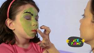 Witch Face Paint Tutorial - YouTube