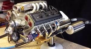 Mini V8 Motor : world 39 s smallest fully functioning v8 engine with ~ Jslefanu.com Haus und Dekorationen