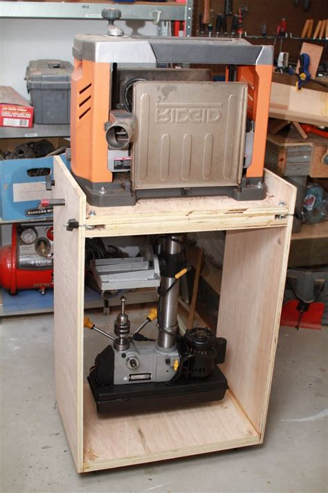 planer stand plans  woodworking projects plans