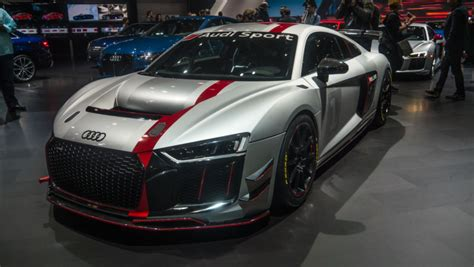 Audi Sport's New Gt4 Race Car Was Star Of Its Ny