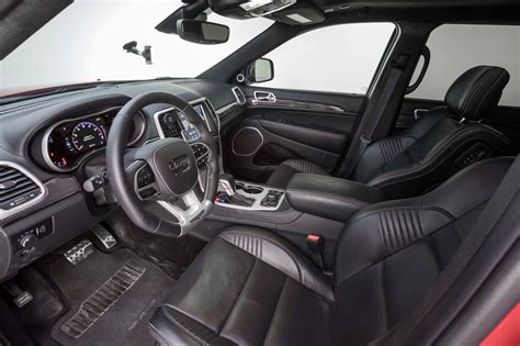 jeep grand interior the 2018 jeep grand trackhawk a hellcat powered