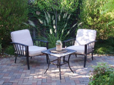Bequemer Sitzplatz Im Garten