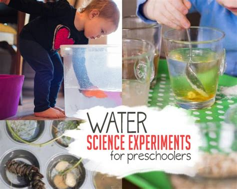 science experiments for preschoolers on as we grow 741 | water science experiments for preschoolers 2