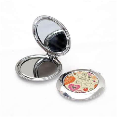 miroir personnalise avec photo miroir de poche photo objets imprim 233 s id 233 e cadeau photo