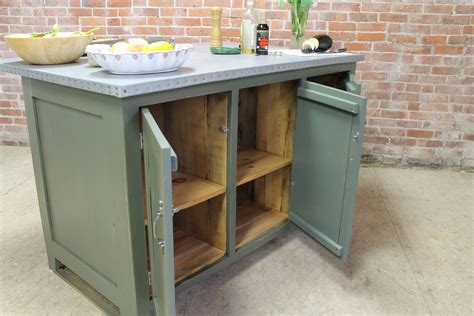 zinc top kitchen island zinc kitchen island in pewter green lake and mountain home 1710