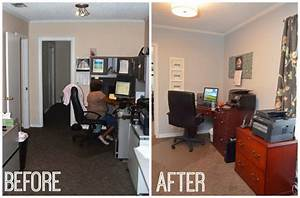 Office, Makeover, Before, And, After