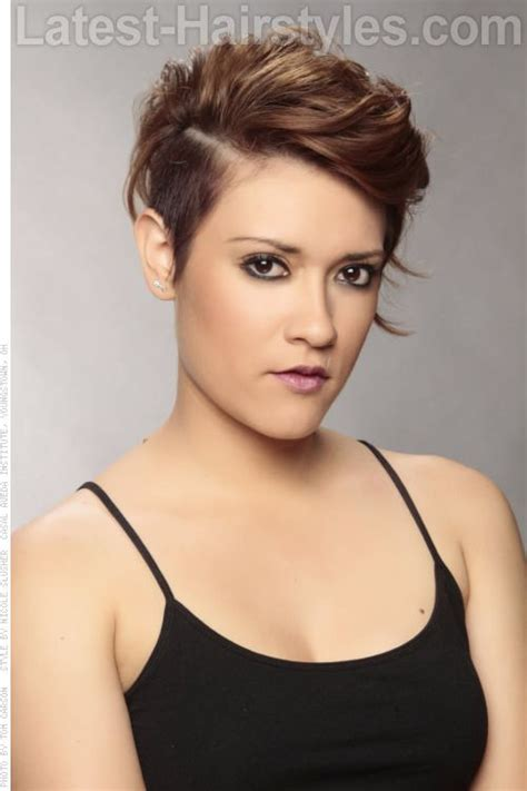 flattering hairstyles   faces trendy