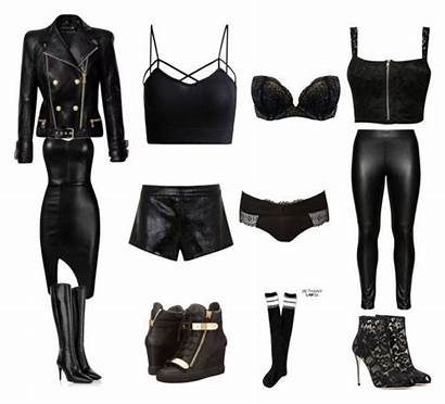 Badass Polyvore Outfit Outfits Bad Clothes Bags