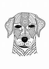 Coloring Pages Hard Dog Adult Advanced Woof Adults Animal Printable Cute Print Dogs Pdf Colouring Favecrafts Animals Cat Mandala Face sketch template