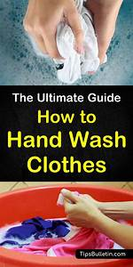 How To Hand Wash Clothes
