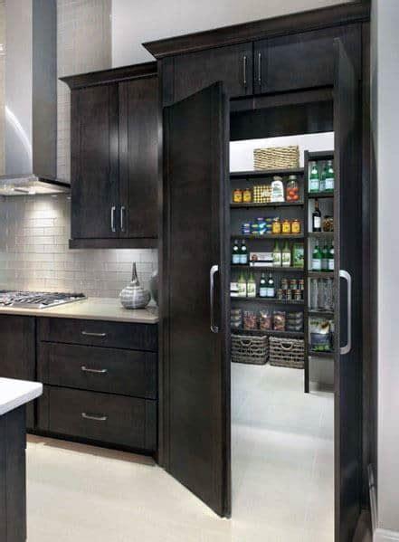hidden door pantry secret kitchen room cabinets designs false entrance tweet