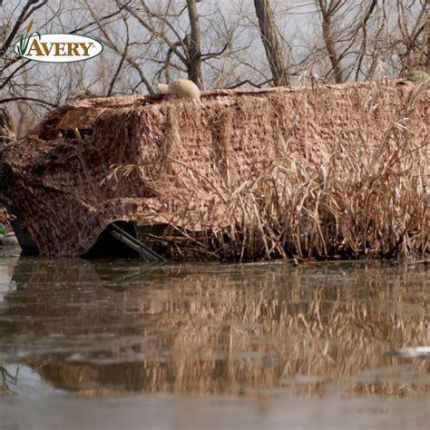 set blind avery set blind camonets 17 19 boats blinds Avery