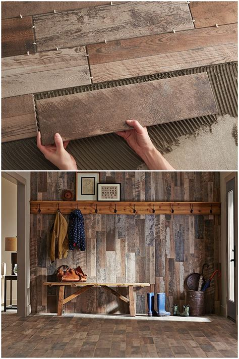 home depot reclaimed wood look tile we the ease of installation of wood look ceramic tile
