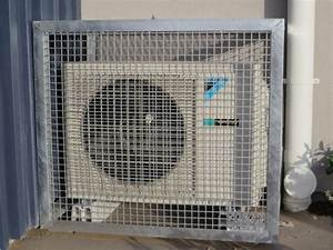 Ac Condenser Cages  U2013 Saxon Engineering
