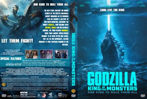 King Of The Monsters (2019) R1 Custom Dvd Cover