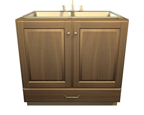 sink at the door 2 door and 1 bottom drawer sink