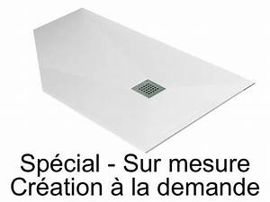 Receveur Sur Mesure : receveurs de douches longueur 110 receveur de douche sur ~ Premium-room.com Idées de Décoration