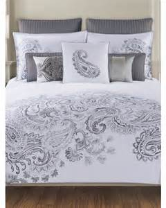 paisley bedding collection tahari home 300 thread count duvet set 16 99 59 99 tj maxx