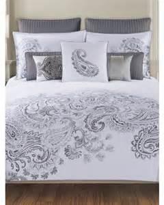 paisley bedding collection tahari home 300 thread count duvet set 16 99 59 99 tj maxx