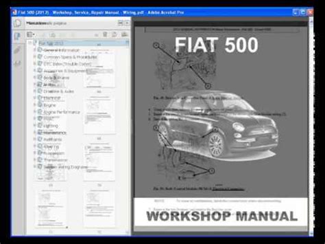 fiat   service manual wiring information youtube