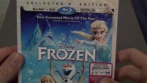 Disney's Frozen Blu-Ray DVD Collector's Edition Unboxing ...