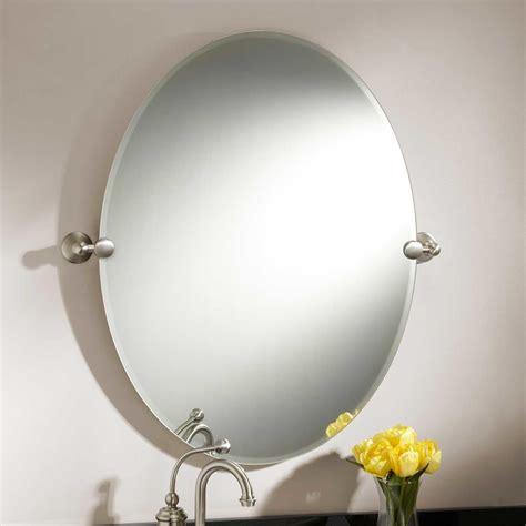 Amazing 90+ Oval Wood Bathroom Mirrors Decorating