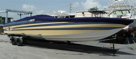 Boat Swim Platform Bumpers by Lip Ship Performance Cigarette Racing Team