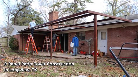 Patio Construction by Steel Patio Cover