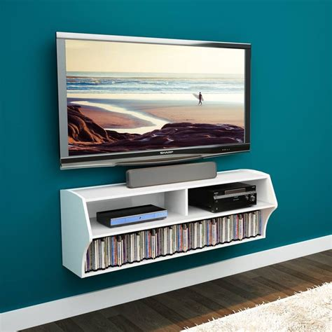 wall entertainment shelf 21 floating media center designs for clutter free living room