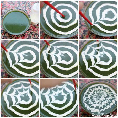 faire une toile d araign 233 e dans les plats marbrures pour cook